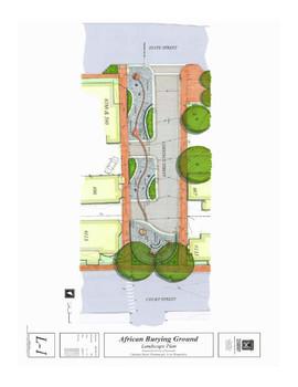 Plan for Memorial Park