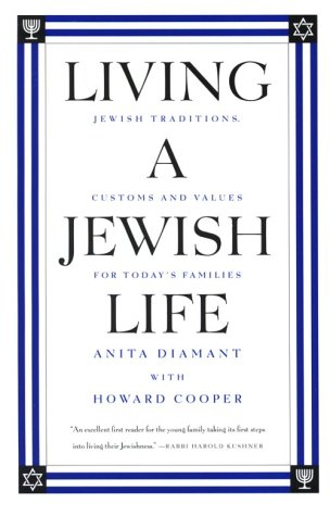 Cover of Living a Jewish Life