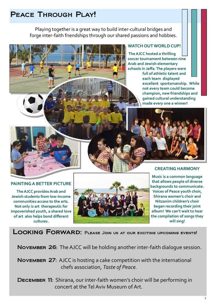 Arab-Jewish Community Center Handout