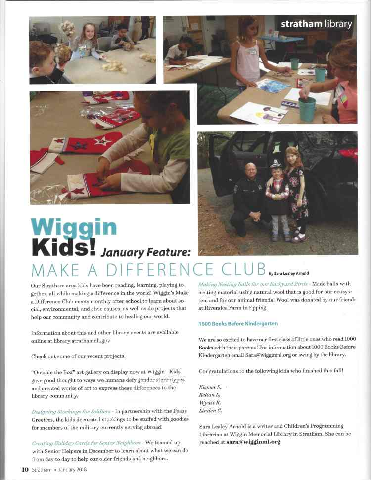 Make a Difference Club photos